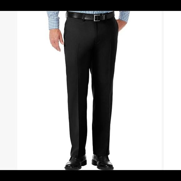 Haggar Black Dress Pants